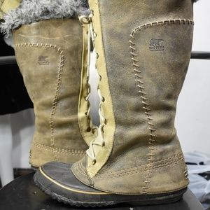 Sorel Cate the Great boots 8 snow winter